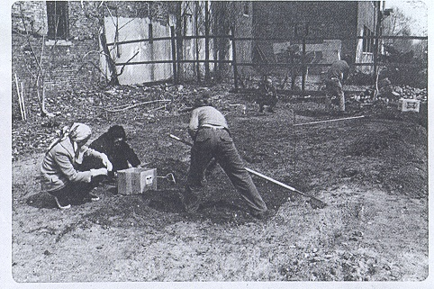 The Bowery-Houston Community Farm and Garden as it looked in 1973.